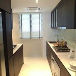 The Inflora Showflat :: 3 Bedroom Kitchen