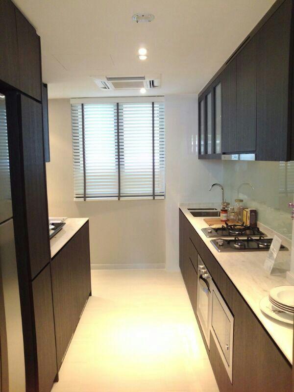 3 Bedroom Condos In Panama City Beach: Inflora Condo Showflat 3 Bedroom Kitchen