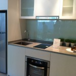 The Inflora Showflat One Bedroom Kitchenette