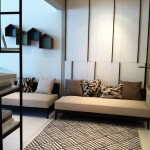 The Inflora Condo Showflat One Bedroom Living