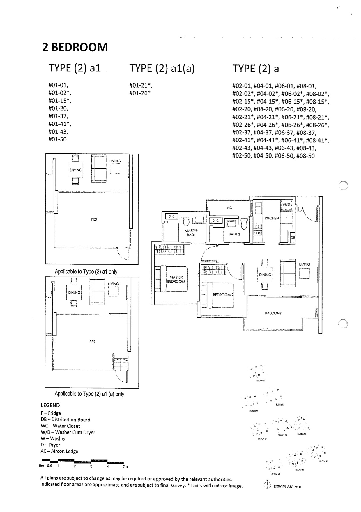 The Inflora Condo Floor Plan 2 Bedroom